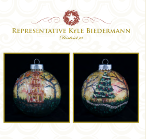 2018 Biedermann Christmas Ornament